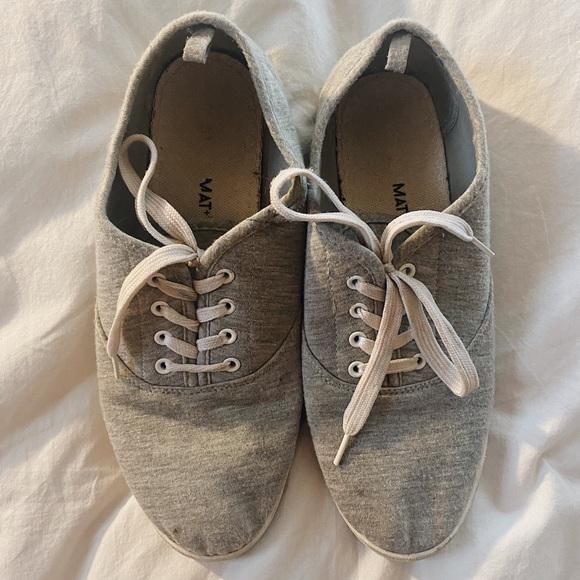 Grey Low Top Sneakers